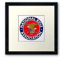 NRA - National Rifle Association Framed Print