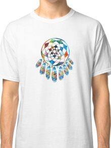 Colorful Dream Catcher by Sharon Cummings Classic T-Shirt