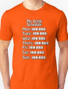 Irn drink schedule  T-Shirt