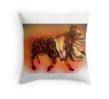 Born of Fire variant 1 Throw Pillow