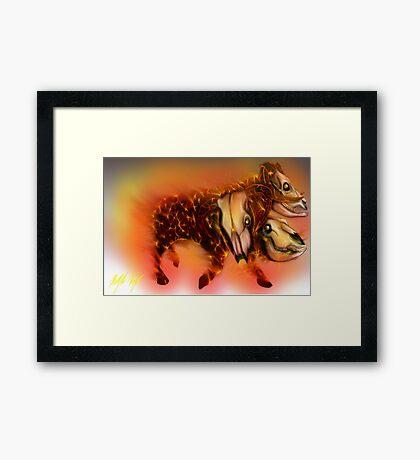 Born of Fire variant 1 Framed Print