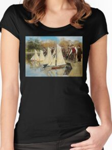 Boat - Sorry kids this ones mine 1910 Women's Fitted Scoop T-Shirt