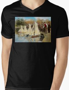 Boat - Sorry kids this ones mine 1910 Mens V-Neck T-Shirt