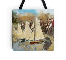 Boat - Sorry kids this ones mine 1910 Tote Bag