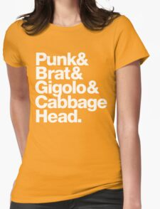 Punk Brat Cabbage Head - Prince Parade Quote Womens Fitted T-Shirt