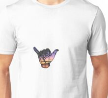 Shaka Sticker Unisex T-Shirt