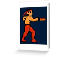Rambo Greeting Card