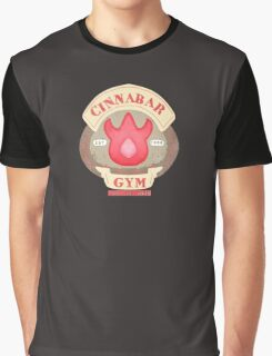 Pokemon - Cinnabar City Gym 'Feel the Burn' Graphic T-Shirt