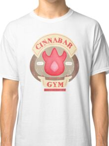 Pokemon - Cinnabar City Gym 'Feel the Burn' Classic T-Shirt