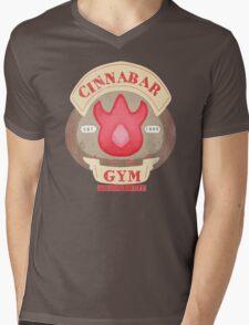 Pokemon - Cinnabar City Gym 'Feel the Burn' Mens V-Neck T-Shirt