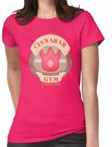 Pokemon - Cinnabar City Gym 'Feel the Burn' Womens Fitted T-Shirt