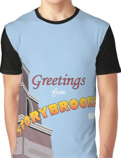 Once Upon a Time - Greetings from Storybrooke Graphic T-Shirt