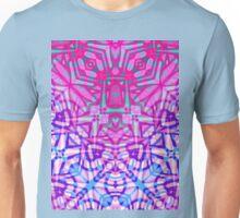 Fractal Art Stained Glass Unisex T-Shirt
