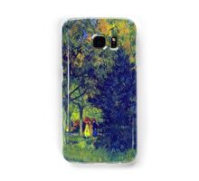 'Allee in the Park' by Vincent Van Gogh (Reproduction) Samsung Galaxy Case/Skin