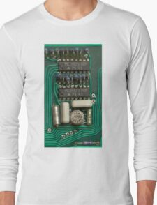 Circuit - recycling old electronics Long Sleeve T-Shirt