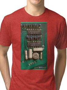 Circuit - recycling old electronics Tri-blend T-Shirt