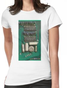 Circuit - recycling old electronics Womens Fitted T-Shirt