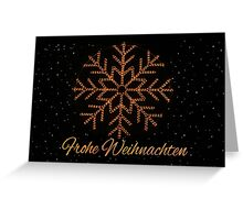 Frohe Weihnachter - German Christmas Greeting Card