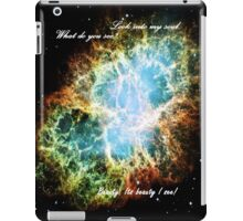 Look into my soul iPad Case/Skin