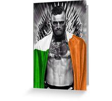 McGregor UFC  Greeting Card