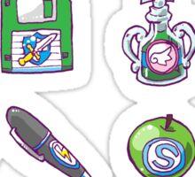 RPG Item Inventory Sticker