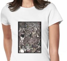 Cave of Spleen Womens Fitted T-Shirt