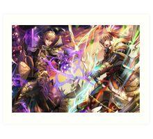 Fire Emblem Fates - Leo VS Takumi Art Print
