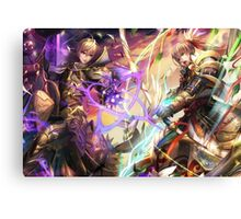 Fire Emblem Fates - Leo VS Takumi Canvas Print