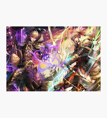 Fire Emblem Fates - Leo VS Takumi Photographic Print