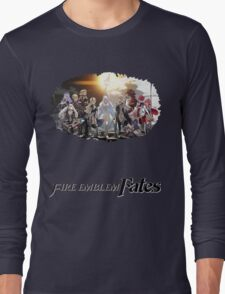 Fire Emblem Fates - Hoshido VS Nohr Long Sleeve T-Shirt