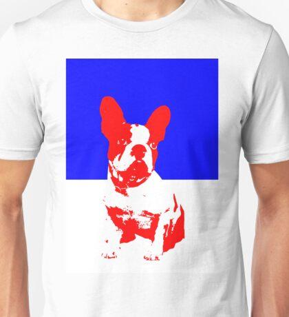 French Bulldog pop art  Unisex T-Shirt