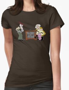 Beware The Invaders! Womens Fitted T-Shirt