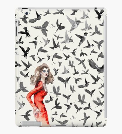 Barcelona Summer Bird Lady  iPad Case/Skin