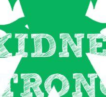 #kidneystrong Sticker