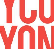 Boycott Beyoncé Sticker