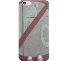No Bicycles iPhone Case/Skin