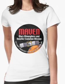 MAVEN Launch Logo Womens Fitted T-Shirt
