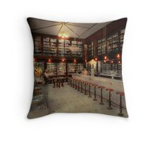 Pharmacy - Bertrams ghosts 1909 Throw Pillow