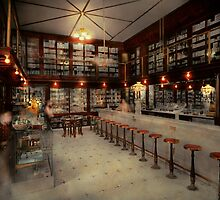 Pharmacy - Bertrams ghosts 1909 by Mike  Savad