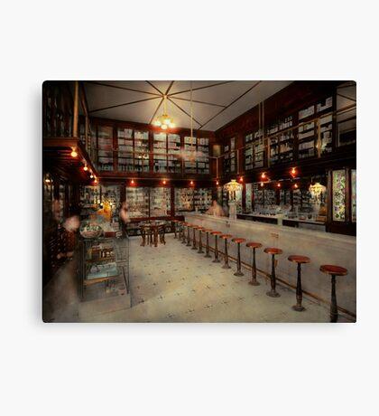 Pharmacy - Bertrams ghosts 1909 Canvas Print