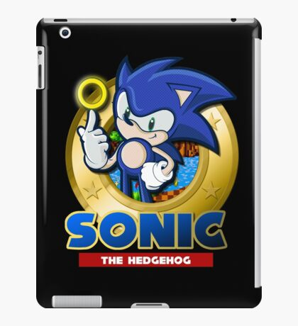 Blue Blur iPad Case/Skin