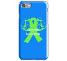 #lymestrong iPhone Case/Skin