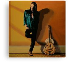 Chris Whitley painting Canvas Print