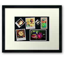 Mad Hatter's Tea Party & Guests Framed Print