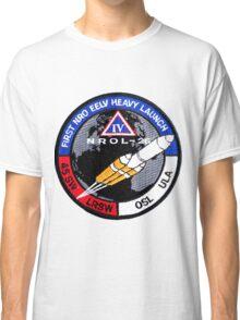 NROL 27 Launch Team Logo Classic T-Shirt