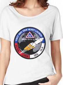 NROL 27 Launch Team Logo Women's Relaxed Fit T-Shirt