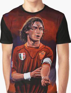 Francesco Totti painting Graphic T-Shirt