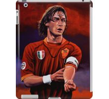 Francesco Totti painting iPad Case/Skin