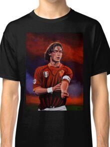 Francesco Totti painting Classic T-Shirt