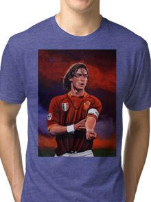 Francesco Totti painting Tri-blend T-Shirt